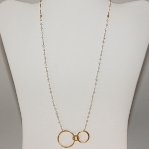 Golden Moon Necklace: Hurricane by Jane
