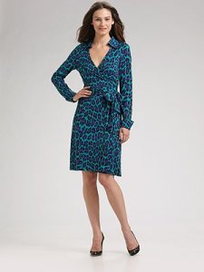 Diane von Furstenberg Vintage Wrap Dress $325