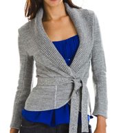 Marled Wrap Cardigan: Armani Exchange