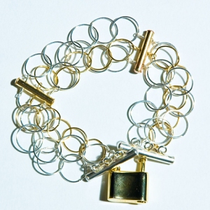 Lock Her Bracelet, $58 Hurricane by Jane Jewelry