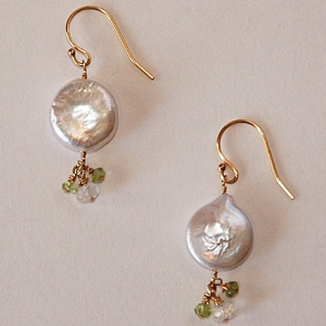 Golden Dream Drop Earrings