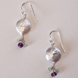 Silver Dream Drop Earrings