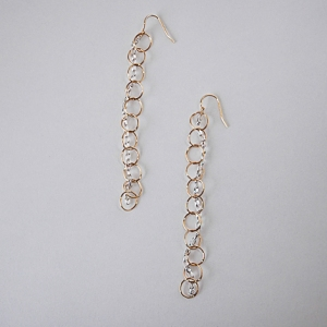 Rain Earrings: Hurricane by Jane