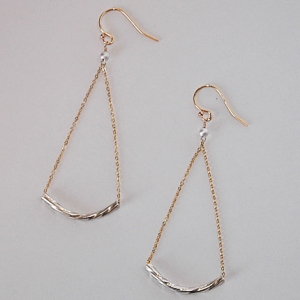 Swingtown Earrings: Hurricane by Jane Jewelry