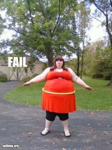 Hula Hoop Fail