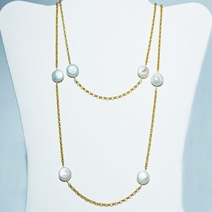 Pearl Before Swine Necklace: Hurricane by Jane $86