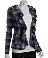 Plaid Blazer: Free People