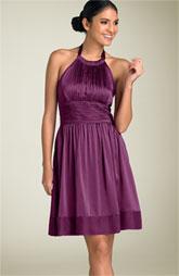 Adrianna Papell Gathered Cutaway Halter Dress, $98.90, Nordstrom