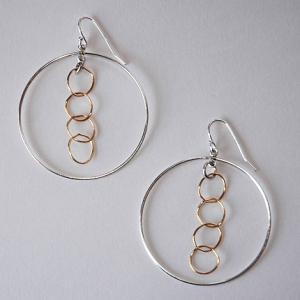 All Mixed Up Earrings, $42: Hurricane by Jane Jewelry