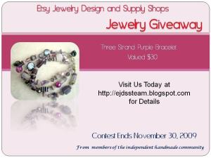 November Jewelry Giveaway